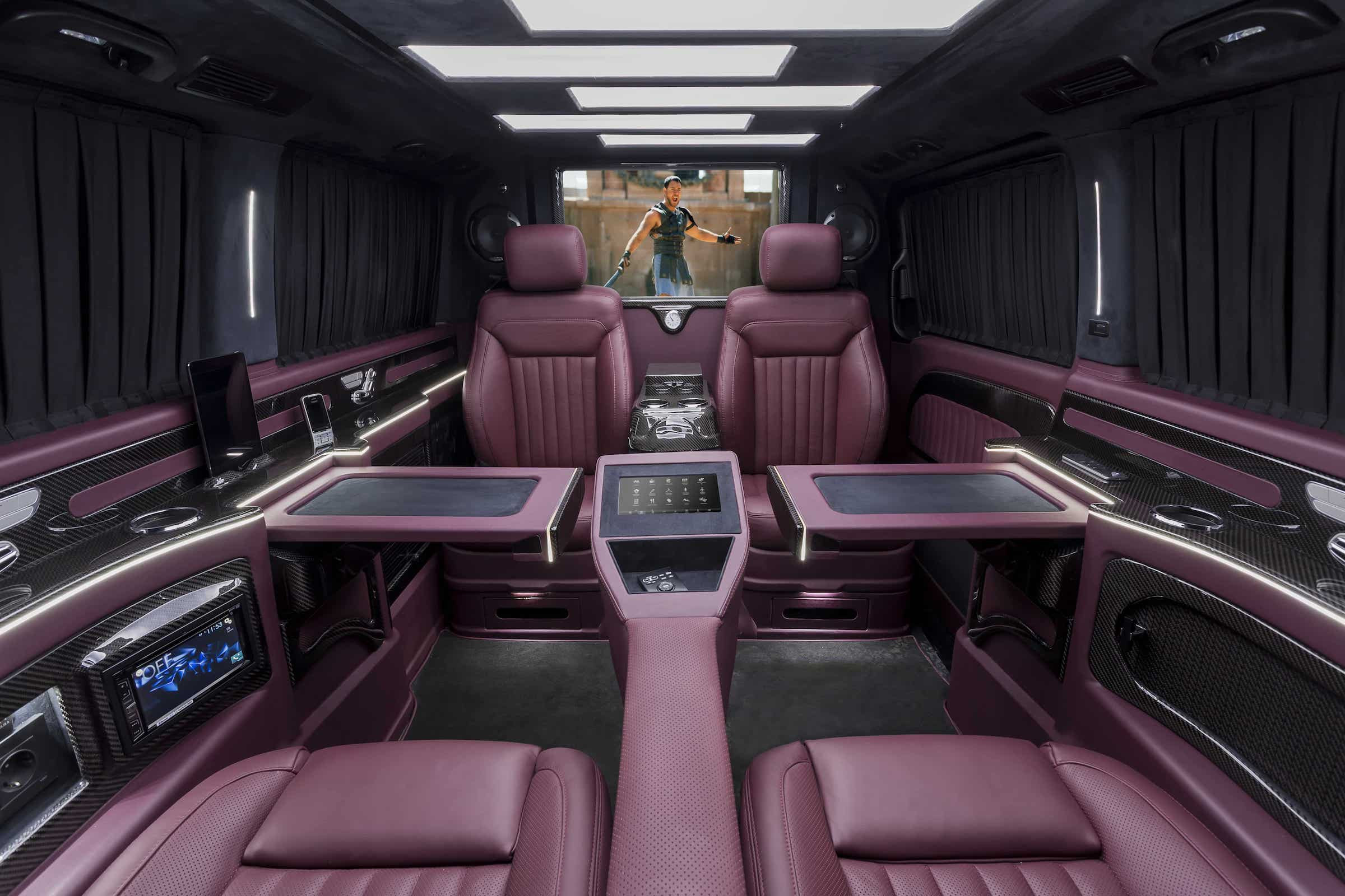 Cherry Red-Carbon - Mercedes V-Class - VIPdesign